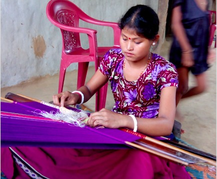 Handlooms as a tool for Empowering Women of North East India